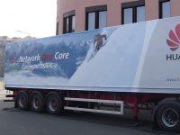 Huawei - velkoplošný tisk a polep kamionu