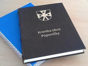 Kronika obce Popovičky