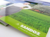 Sandoz - tisk brožur a letáků