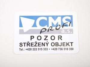 PRINT PRODUKCE PRAHA - tisk a výroba samolepek