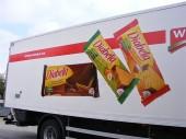 Wissa - velkoplošný reklamní polep nákladního auta